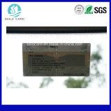 Étiquette sèche de pare-brise pour les systèmes automatiques de grille d'IDENTIFICATION RF