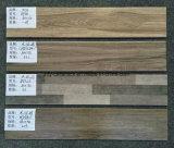 Belle mattonelle di pavimento di legno di ceramica del materiale da costruzione