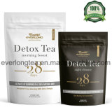 Detox 차 28 일 궁극적인 Teatox - 뚱뚱한 화상 체중 감소를 가속하거든, 결장은 편평한 배 정화하고 - 맛있은 쉬운 양조주 및 맛