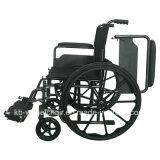 Desserrage rapide, acier, manuel, fauteuil roulant de nylon d'économie