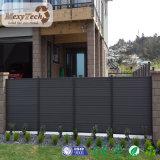 2017 cercado compuesto impermeable al aire libre al por mayor del jardín de la seguridad WPC