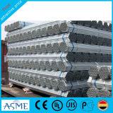 tubo galvanizado 4inch del acero de 1/2inch Pregalvanized