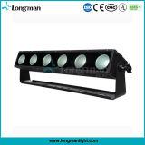 Nueva luz de la colada de la pared de Rgbaw Aluminm LED de la MAZORCA del Ce 6*25W