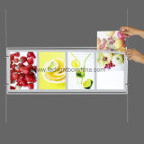 Display a finestra doppio laterale lucido acrilico a LED Menu LED (CDH03-A4PX4)