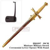 Spade del cavaliere apri di lettera che ordinano la decorazione 30cm fornire domestico delle spade