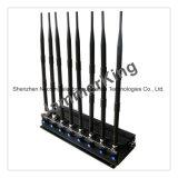 8 antena 4G CDMA Lte 3G WiFi GPS GSM caminhada UHF VHF Talkie interferidor do Celular