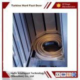 Porte en aluminium à grande vitesse industrielle