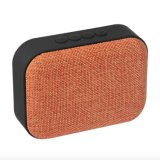 최신 판매 다채로운 직물 칼라 박스를 가진 소형 싼 스피커 Portable