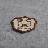 Distintivo tessuto damasco preciso esatto personalizzato del particolare per l'uniforme/i vestiti