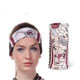 Absorver o suor Seamless Bandana lenço de cabeça multifuncional UV (YH-HS404)