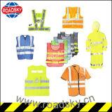 Do engranzamento adulto colorido da segurança da alta qualidade veste reflexiva com Zipper