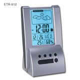 La música de estaciones meteorológicas reloj de alarma (ETR-512)