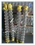 Reticolato di saldatura usato costruzione del TUFFO caldo e maglia della sfortuna