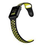 2 Appleの腕時計シリーズ3/シリーズののAppleの腕時計のAlritzのシリコーンのスポーツストラップの置換のリスト・ストラップのブレスレットのためのバンド/シリーズ1/