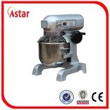 Mezclador comercial planetario de la máquina de la correa eléctrica espiral de los mezcladores del suelo