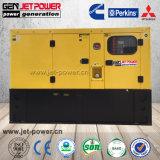 Wassergekühlter schalldichter 10kw 10kVA Diesel-Generator des einphasig-