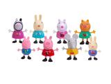 Cartoon Animation de la famille Figure animale Pack Jouets