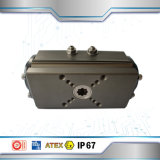 El aluminio Venta caliente actuador neumático