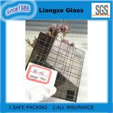 Vidrio flotado tintado de bronce con la norma ISO para la decoración