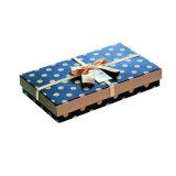 단단한 서류상 마카롱 상자 #Chocolatebox를 포장하는 주문 Hand-Made 호화스러운 장방형