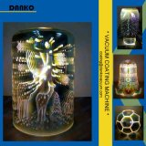 Equipo de cristal hermoso de la vacuometalización de la lámpara PVD
