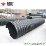 24 인치 HDPE 강철에 의하여 강화되는 물결 모양 배수관