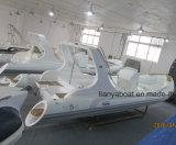 Liya 27pés casco de fibra de vidro militar barco inflável com motores