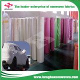 Protector contra 100% el polvo no tejido del coche de la tela de los PP Spunbond de la Virgen que hace el material