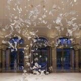 Lamp van de Bladeren van het Project van de Hal van het hotel de Dansende