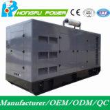 Резервный генератор силы 450kw/562.5kVA молчком электрический тепловозный с двигателем Shangchai Sdec