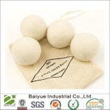 Paquete de 4 bolas de lana extra grandes para ropa de pelo