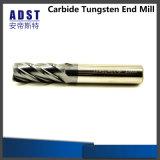 4flue торцевая фреза карбида инструмента CNC Miling твердая