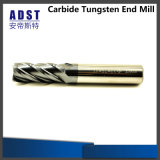 Moinho de extremidade contínuo do carboneto da ferramenta profissional do CNC Miling do fabricante 4flue