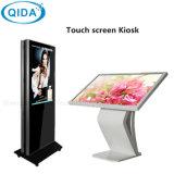 65inch-de-chaussée Kiosque d'information permanent Joueur de l'écran LCD affichage vidéo