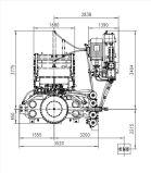 壁の煉瓦のための自動油圧出版物機械