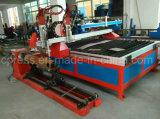 Tipo do Gantry do Plasma CNC e máquina de corte cônica de chamas