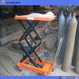 Plataforma de elevación hidráulico manual CE