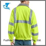 Мужчин и отражающей куртка со светоотражающими заклеивания клейкой лентой
