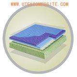 PVCフロアーリングのためのスクリムが付いているガラス繊維のティッシュ