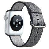 Più nuovo cinturino di nylon del nero del rimontaggio della manopola per Apple Iwatch
