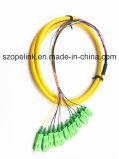 Faser-Optikkabel-Bündel-Steckschnüre