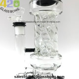 "12.4 ""Hotsell Matrix GlasWaterpipe Glasrohr mit Reifen Perc Großhandels-EXW Preis"