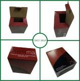 Impression offset faite sur commande estampée de Cmyk de boîte en carton ondulé