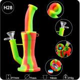 2018頑丈なガラスに煙ることのための新しい透過シリコーン二重フィルター配水管