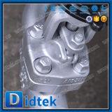 Valvola a saracinesca cuneiforme aumentante del gambo dell'acciaio legato di Didtek