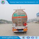 Venta caliente 35-50 cbm eje 3 depósito de combustible de aleación de aluminio semi remolque