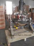 Alimento industrial del acero inoxidable que cocina el mezclador