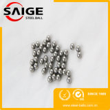 Bille élevée d'acier inoxydable de la dureté G100 3.175mm avec le GV