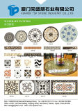 Natural Stone Waterjet Marble for Floor/Flooring/Wall/Kitchen/Lobby/Slab/Tile/Mosaic Pattern/To border/Medallion/Floor Basts with Inlay Metal