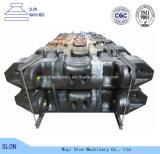 Hohe spiralige Zerkleinerungsmaschine Mangan-Stahl-KOMATSU-PC3000-6 zerteilt Spur-Schuh